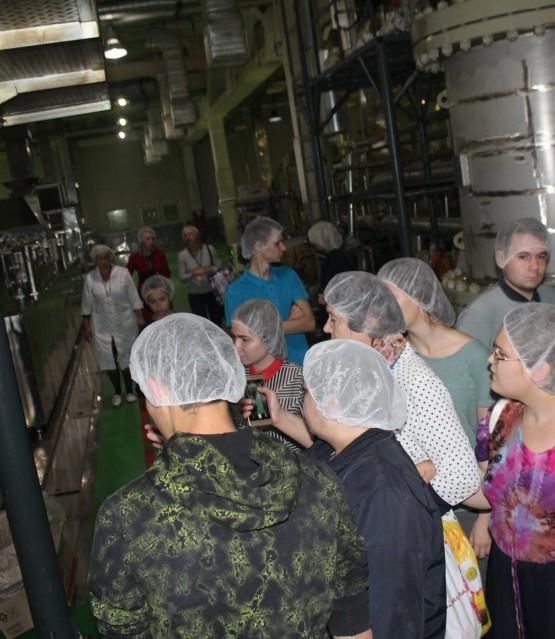 Экскурсия на завод  Доширак. октябрь 2017