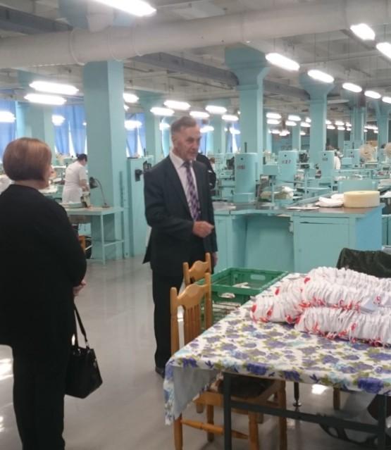 Посещение «Кимрской фабрики им. Горького» и «Дубненского машиностроительного завода»