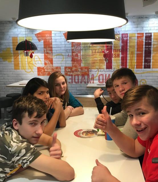 Экскурсия в KFC